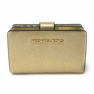 Michael Kors Jet Set Travel PVC Bifold Coin Wallet